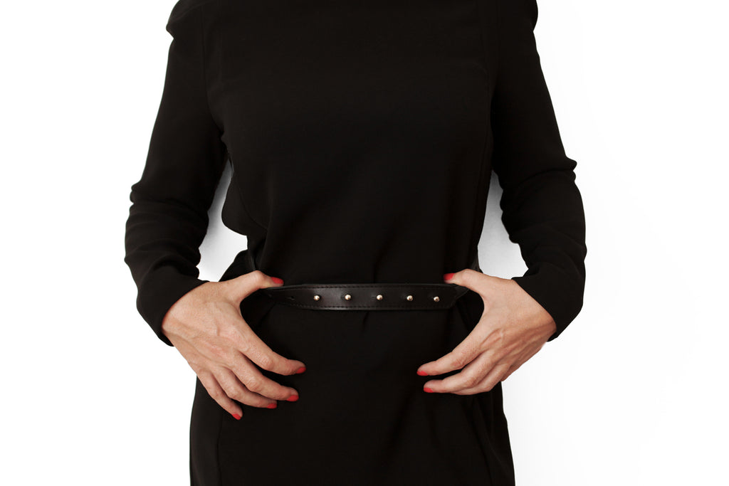 Francis - The Classic Belt in Black Leather