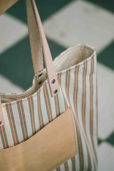 Maximini _ sophisticated tote bag _ stripes