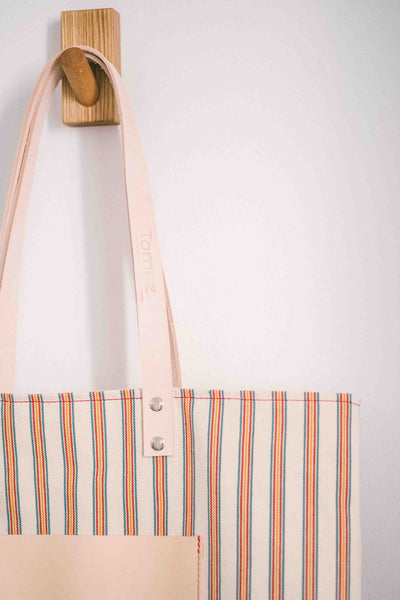 Maximini - Sophisticated Tote Bag With Stripes