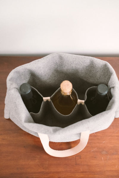 Cheers - Wine Portable Rack in Burel
