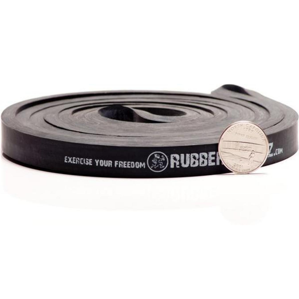 Rubberbanditz Widerstandsband power schwarz  2,2 x 104,1 cm