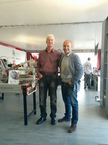 Benny With Roberto Ciriminna Raimondi Export Manager