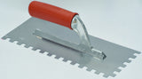 Notched Trowels With Rubber Handle Size 28x12cm  6-12mm (select option)