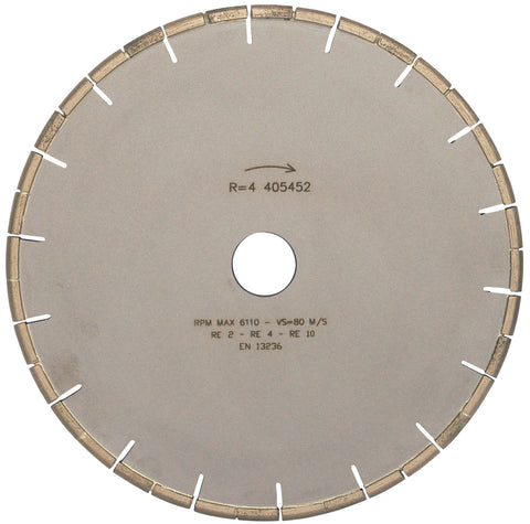 Grooving Diamond Disc For Cutting Anti Slip grooves Dia. 250mm  R 4mm179SCAN4