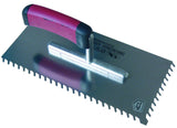 Slanted and Round Notched Trowels 28x13cm 6-15mm (select option)