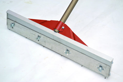 Self Levelling Height Adjustable Rake For Levelling compound's