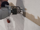 drilling wall for fixing