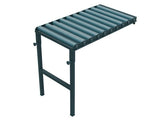 Rolling Side Table With 10 Rollers 100cm Length 374RU10D40