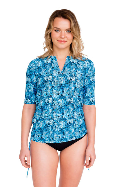 Tunic - Fashionable Womens Rash Vests by Honeybell Waterwear