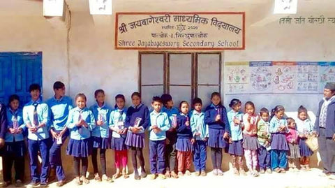 New project: Purchase a meaningful gift and help rebuild Shree Jayabagewory secondary school