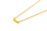 Om necklace - gold