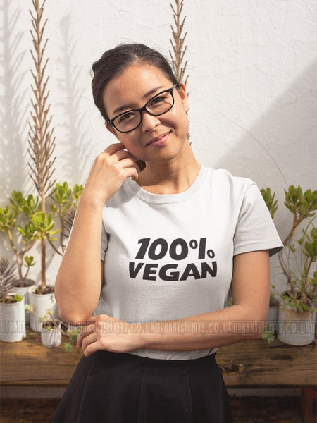 100 % Vegan T-shirt - Urbantshirts.co.uk