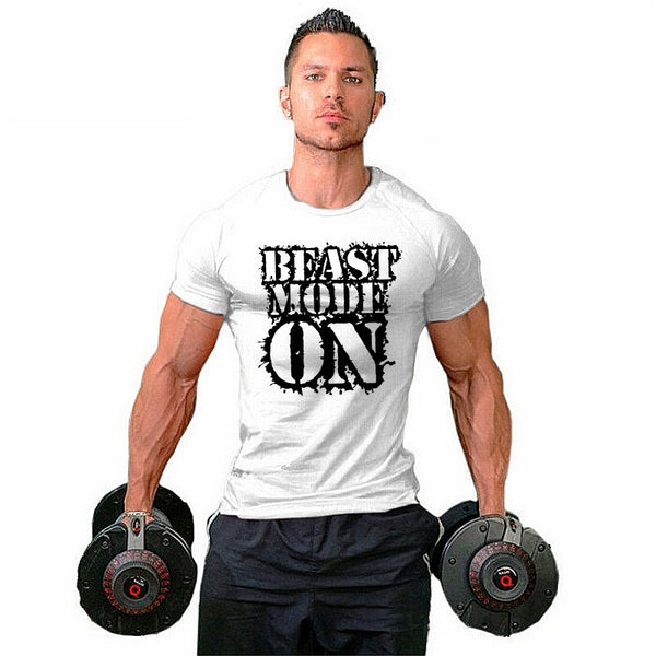 Beast mode on T-shirt - Urbantshirts.co.uk