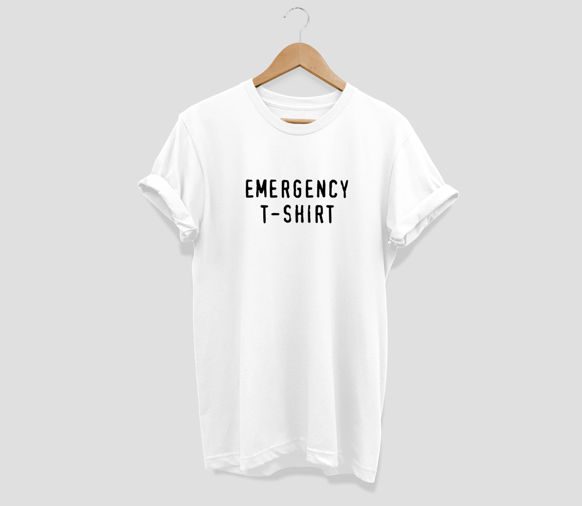 Emergency T-shirt T-shirt - Urbantshirts.co.uk