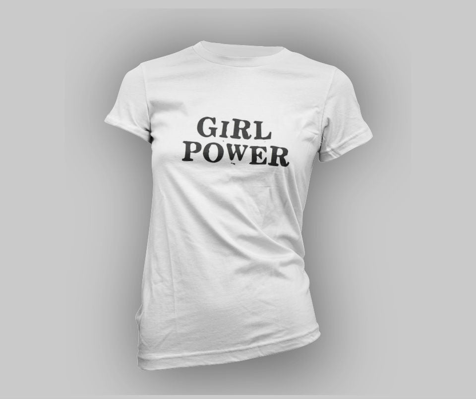 Girl Power T-shirt - Urbantshirts.co.uk