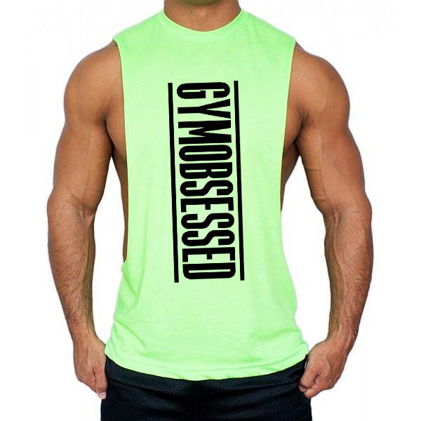 Gym obsessed Low cut Vest - Urbantshirts.co.uk