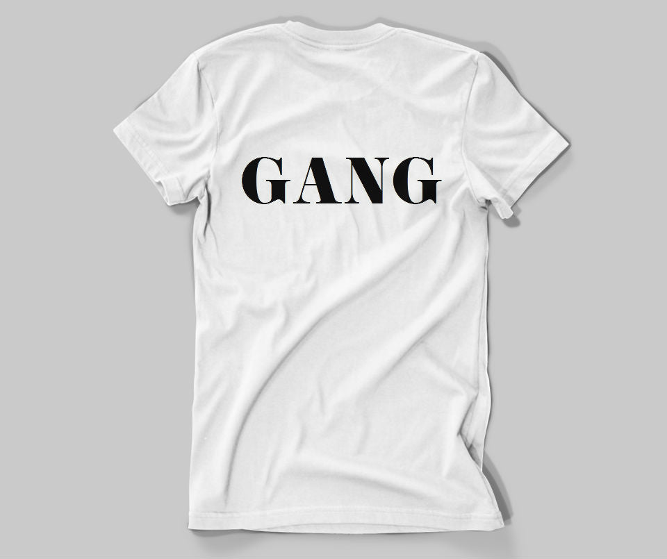 Girl Gang T-shirt - Urbantshirts.co.uk