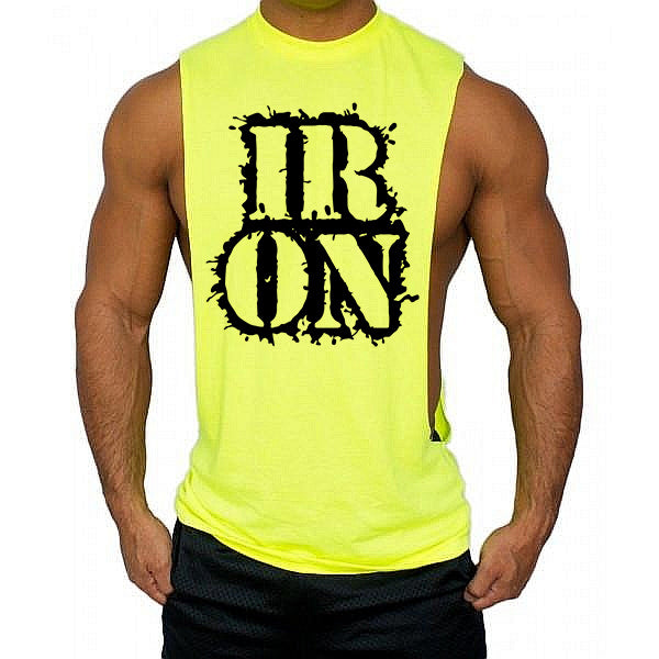 Iron Low cut Vest - Urbantshirts.co.uk