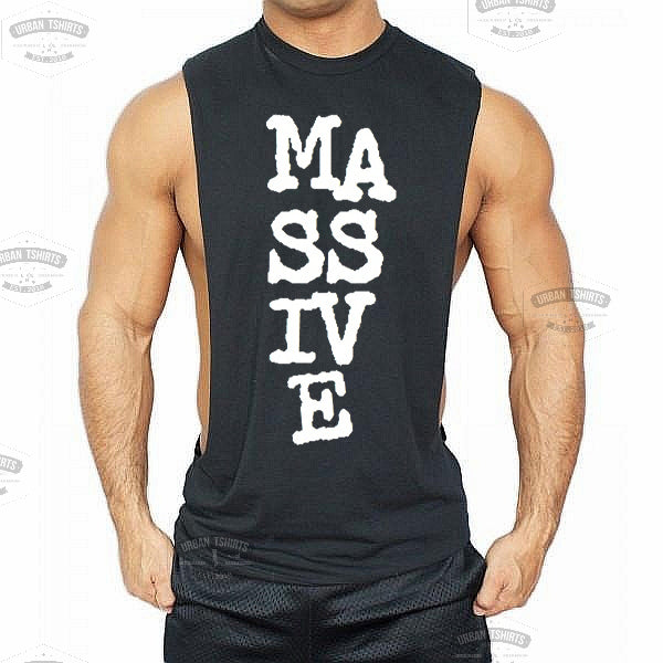 Massive Low cut Vest - Urbantshirts.co.uk