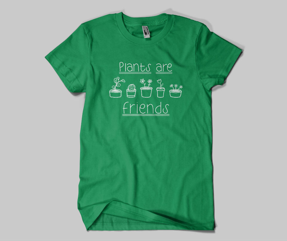 Plants are Friends T-shirt - Urbantshirts.co.uk
