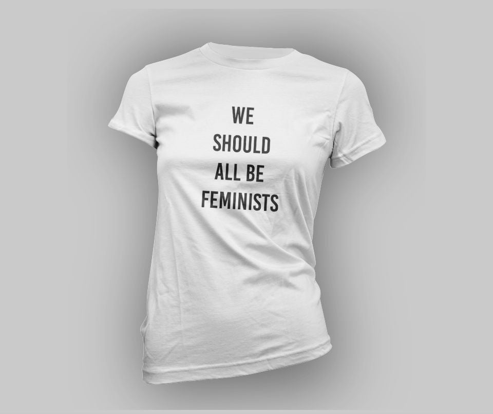 We all should be feminist T-shirt - Urbantshirts.co.uk