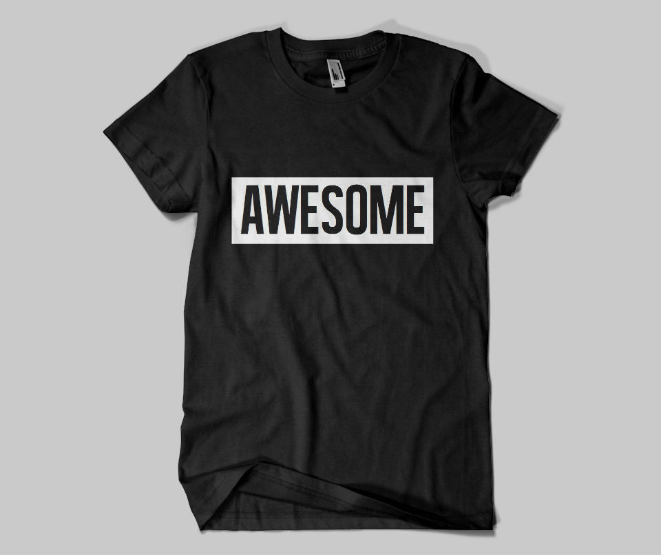 Awesome T-shirt - Urbantshirts.co.uk
