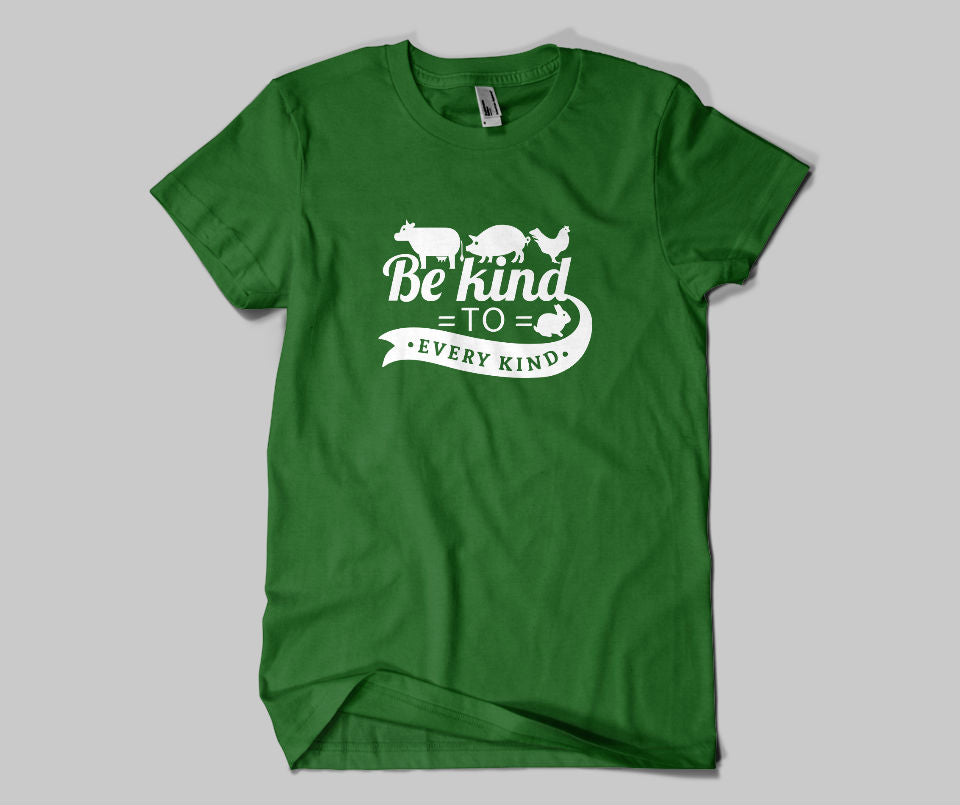 Be kind to every kind T-shirt - Urbantshirts.co.uk