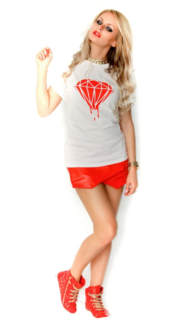 Bloody diamond T-shirt - Urbantshirts.co.uk