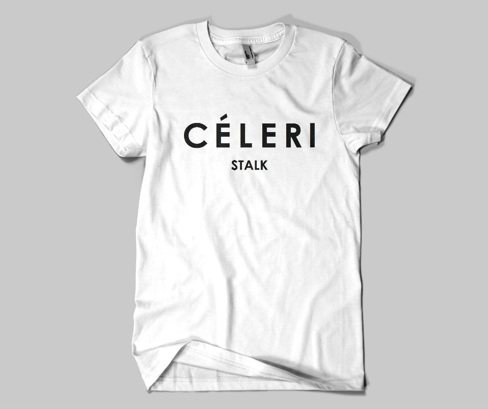 Celeri Stalk T-shirt - Urbantshirts.co.uk