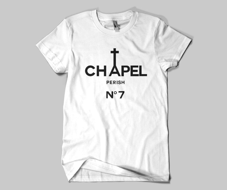 Chapel Perish no 7 T-shirt - Urbantshirts.co.uk