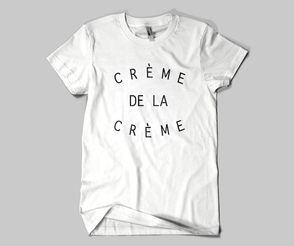 Creme de la creme T-shirt - Urbantshirts.co.uk