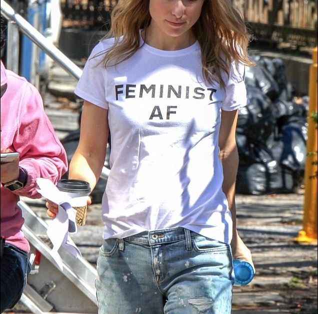 Feminist AF T-shirt - Urbantshirts.co.uk