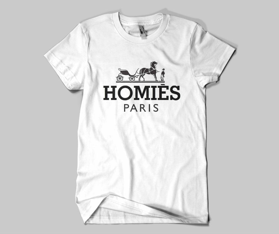 Homies Paris T-shirt - Urbantshirts.co.uk