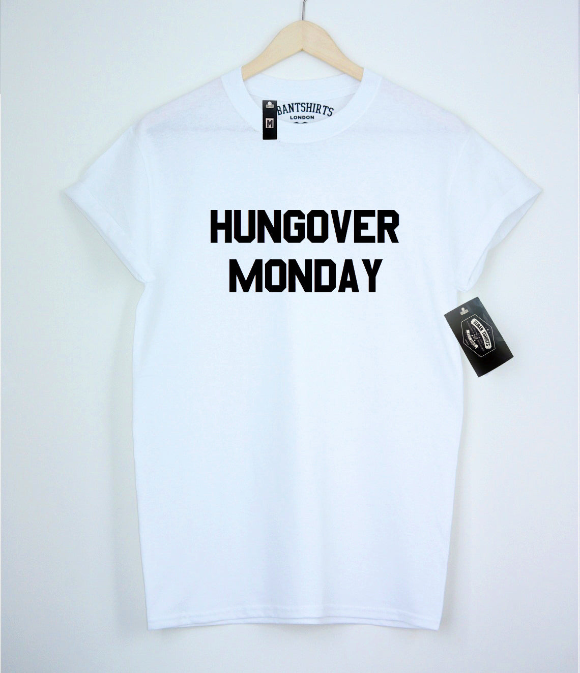 Hungover Monday T-shirt - Urbantshirts.co.uk