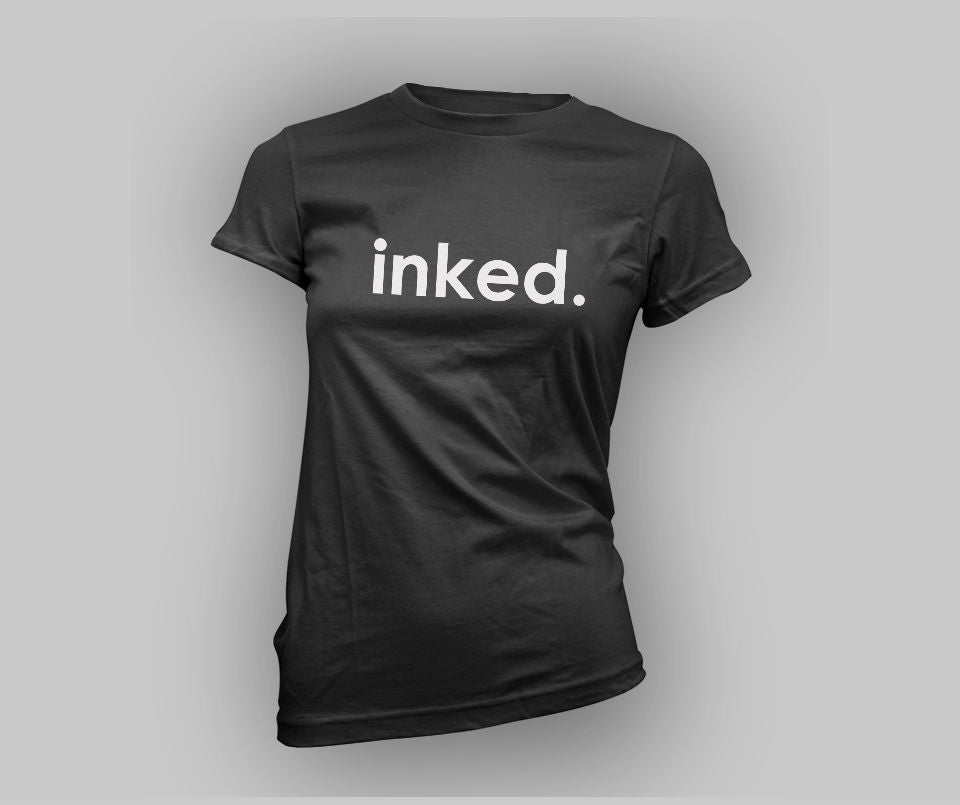 Inked. T-shirt - Urbantshirts.co.uk