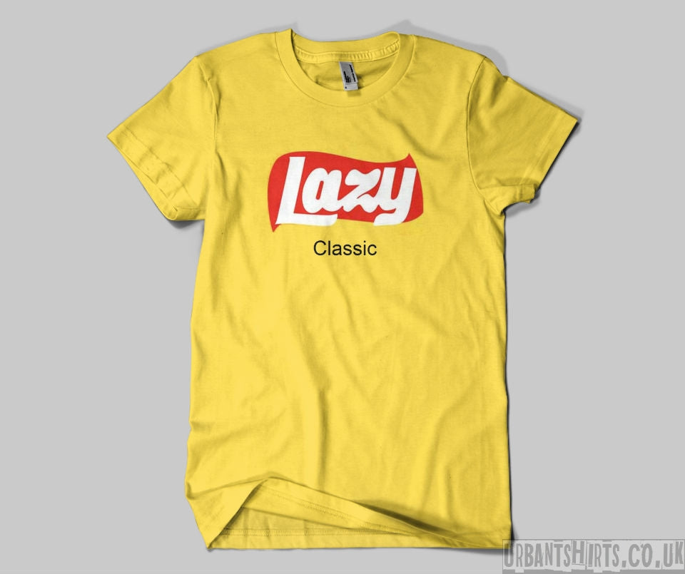 Lazy Lays T-shirt - Urbantshirts.co.uk