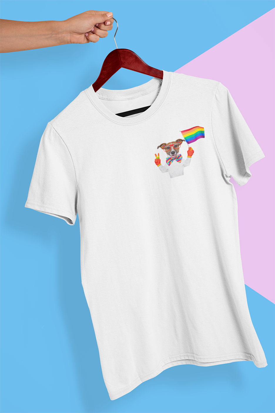 LGBT dog T-shirt , LGBT , Pride T-shirt - Urbantshirts.co.uk