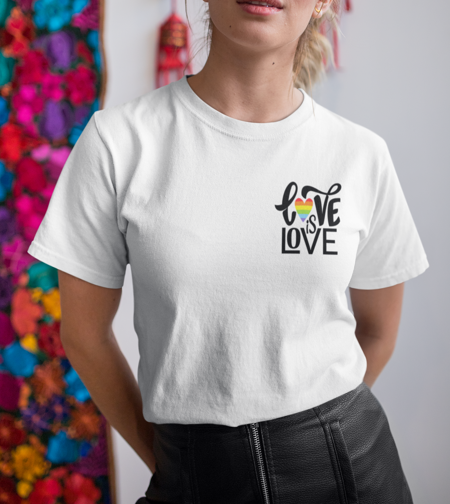 Love is Love T-shirt , LGBT , Pride T-shirt - Urbantshirts.co.uk