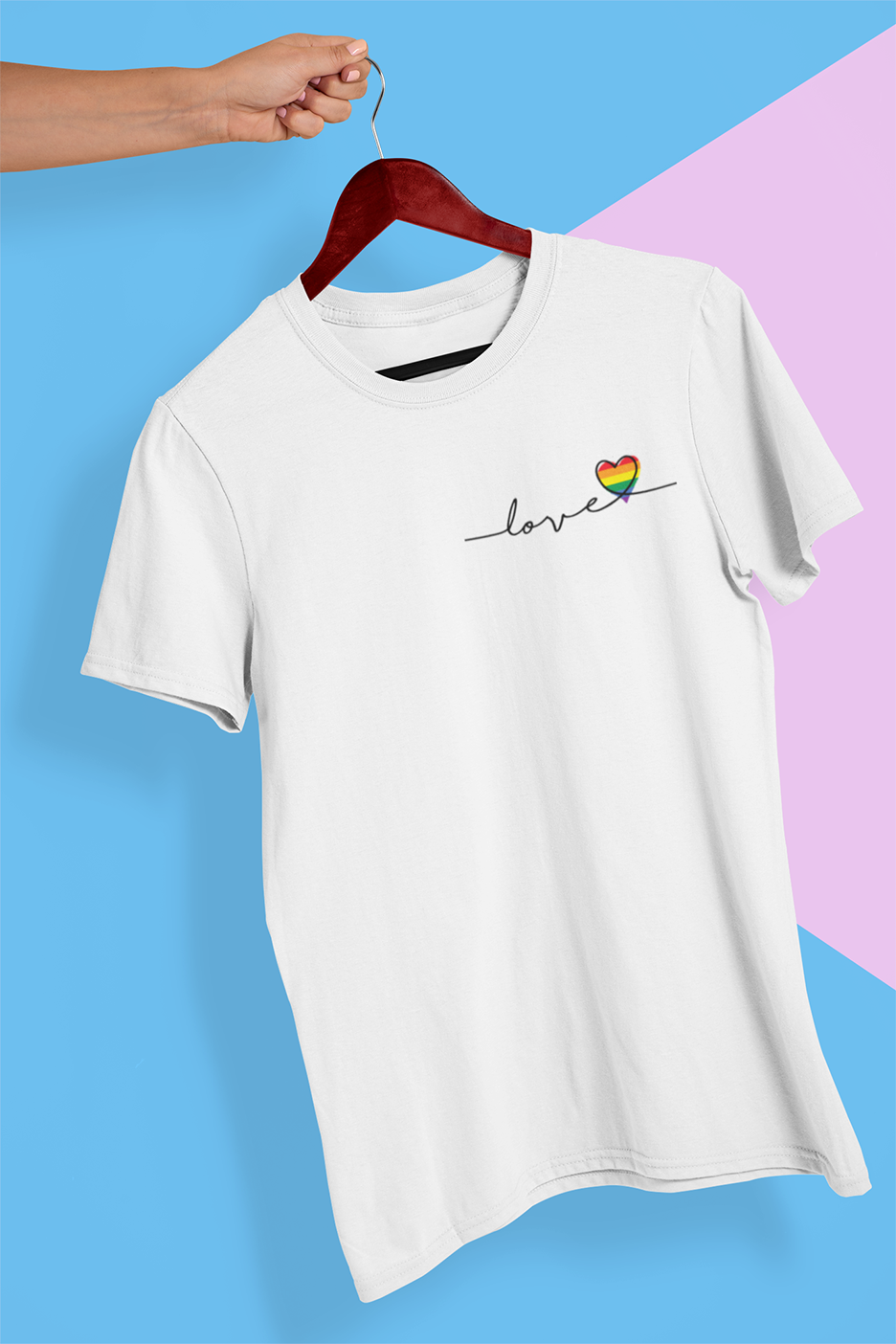 Love T-shirt , LGBT , Pride T-shirt - Urbantshirts.co.uk