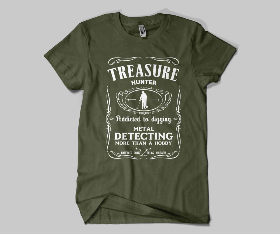 Treasure Hunter T-shirt - Urbantshirts.co.uk
