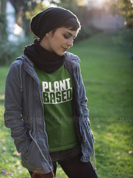 Plant based T-shirt - Urbantshirts.co.uk