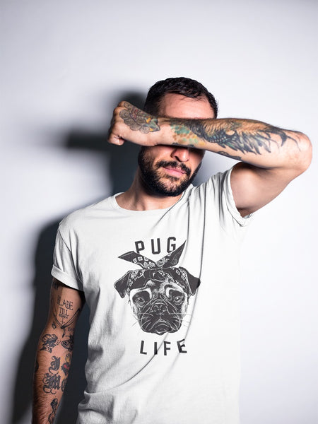 Pug Life T-shirt - Urbantshirts.co.uk