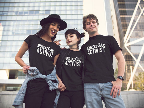 Radical Activist T-shirt - Urbantshirts.co.uk