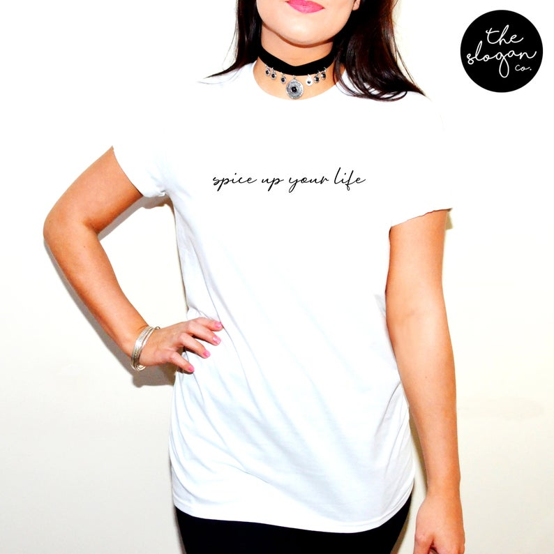 Spice up your life T-shirt , Spice girls T-shirt - Urbantshirts.co.uk