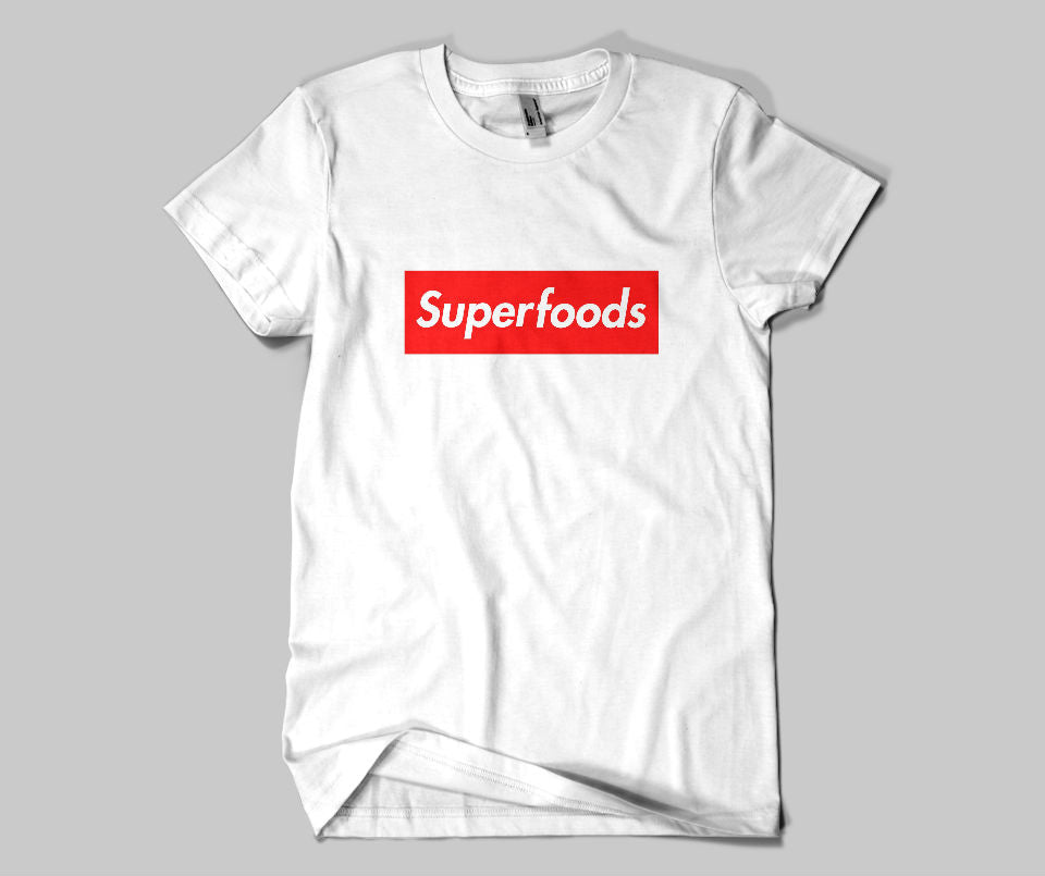 Superfoods T-shirt - Urbantshirts.co.uk
