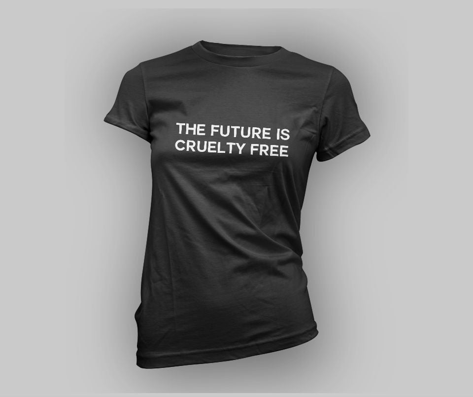 The future is cruelty free T-shirt - Urbantshirts.co.uk