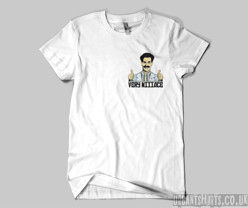 Borat T-shirt - Urbantshirts.co.uk