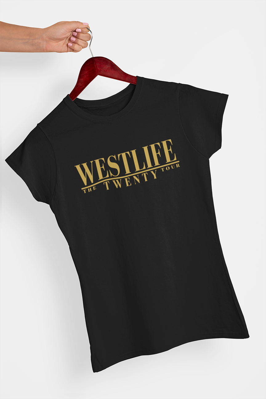Westlife The Twenty Tour T-shirt - Urbantshirts.co.uk