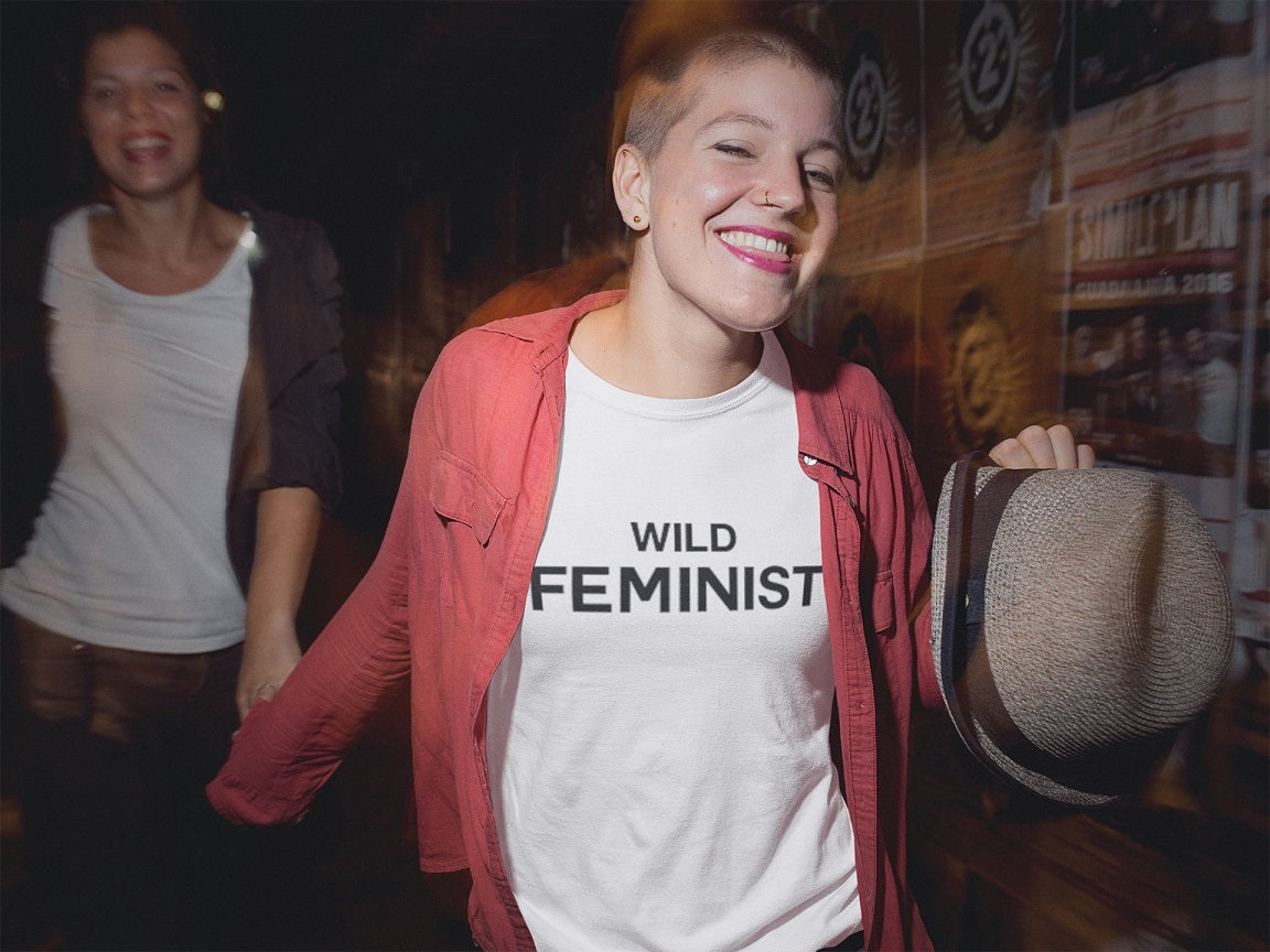 Wild Feminist T-shirt - Urbantshirts.co.uk
