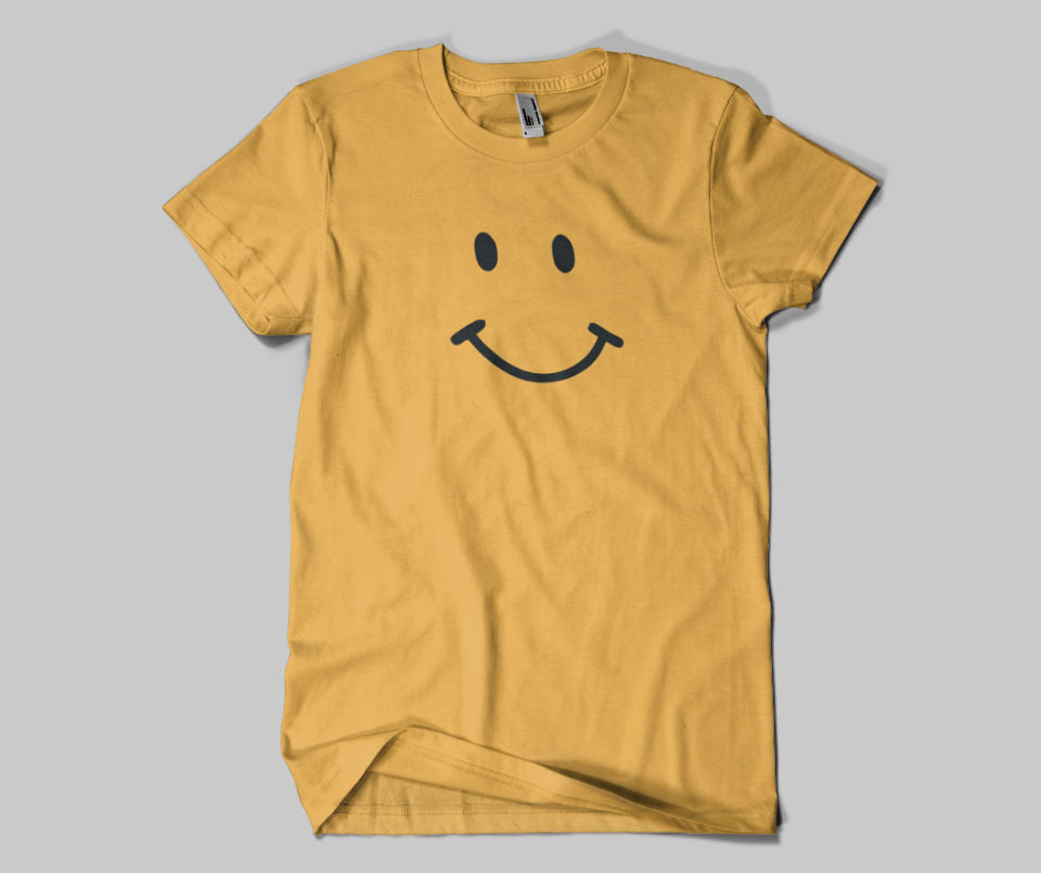 Smiley T-shirt - Urbantshirts.co.uk